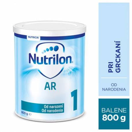 NUTRILON 1 AR špeciálne počiatočné mlieko 800 g, 0+