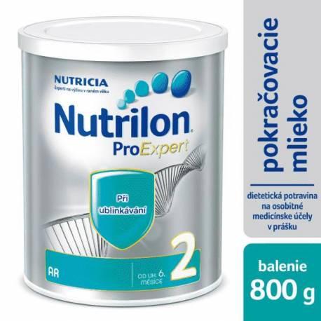 NUTRILON 2 AR špeciálne pokračovacie mlieko 800 g, 6+