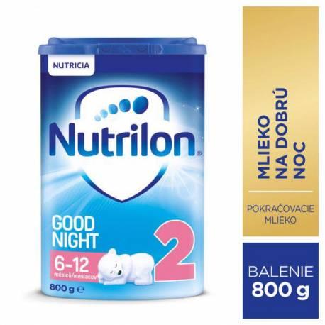 NUTRILON 2 Good Night Pokračovacie dojčenské mlieko 800 g, 6+
