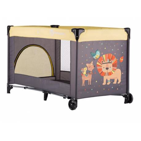 PETITE&MARS Postieľka cestovná Koot - Lion Yellow