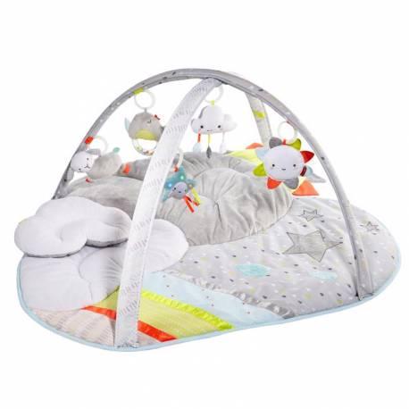 SKIP HOP Deka na hranie 5 hračiek, vankúšik Silver Linning Cloud 0m+