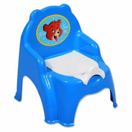 Dětský nočník modrý