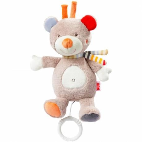 Dětská plyšová hrající hračka Nuk méďa