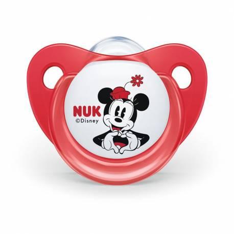 Šidítko Trendline NUK Disney Mickey Minnie 0-6m červené Box