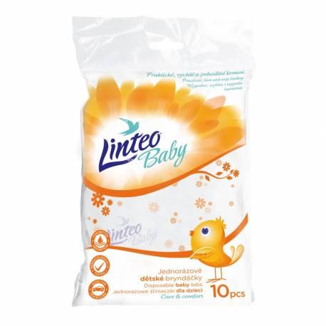 Dětské jednorázové bryndáčky Linteo Baby 10 ks