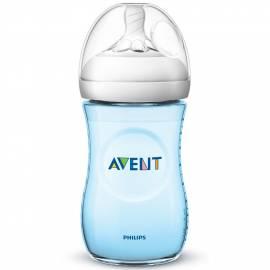 Kojenecká láhev Avent Natural 260 ml modrá