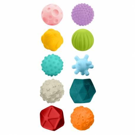 Sada senzorických hraček 10ks Bayo