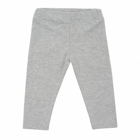 Kojenecké bavlněné legíny New Baby Leggings šedé