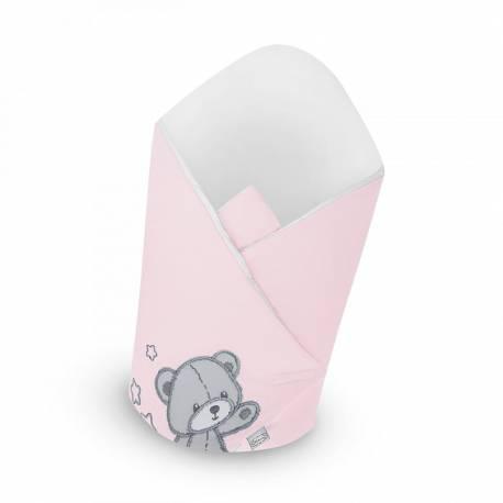 Zavinovačka Belisima Teddy Bear růžová