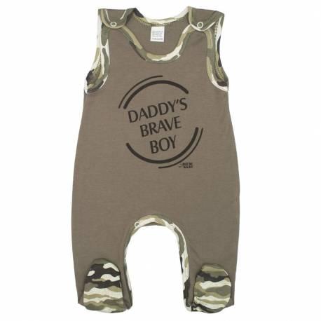 Kojenecké dupačky New Baby Army boy