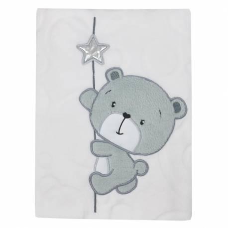 Dětská deka Koala Cute Darling bílá