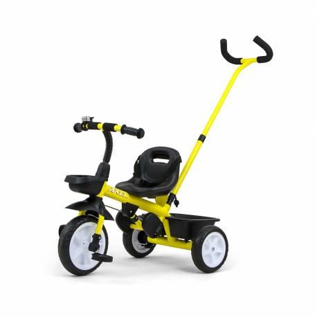 Dětská tříkolka Milly Mally Axel yellow