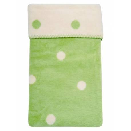 Dětská bavlněná deka Womar 75x100 zelená