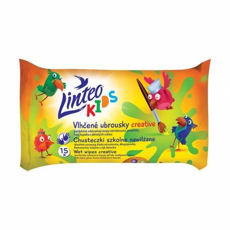 Dětské vlhčené ubrousky Linteo Baby Kids 15 ks