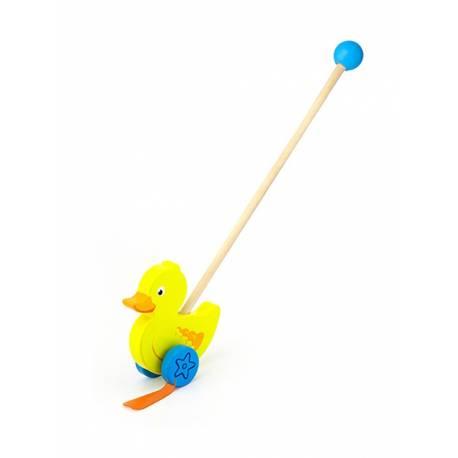 Dřevěná jezdící hračka Viga kačenka