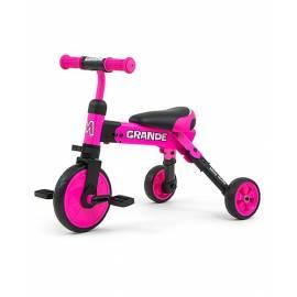 Dětská tříkolka 2v1 Milly Mally Grande pink
