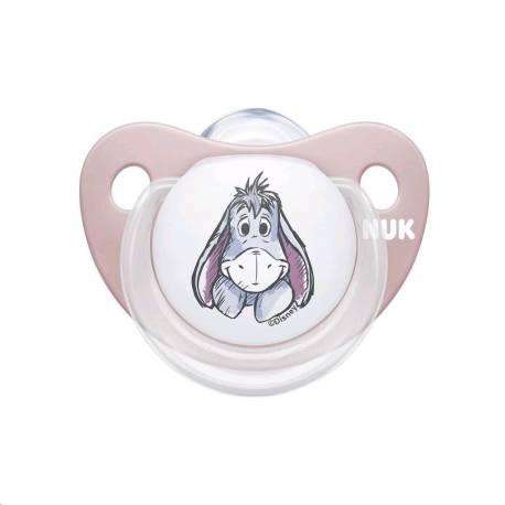 Šidítko Trendline NUK Disney Medvídek Pú 0-6m Box růžové