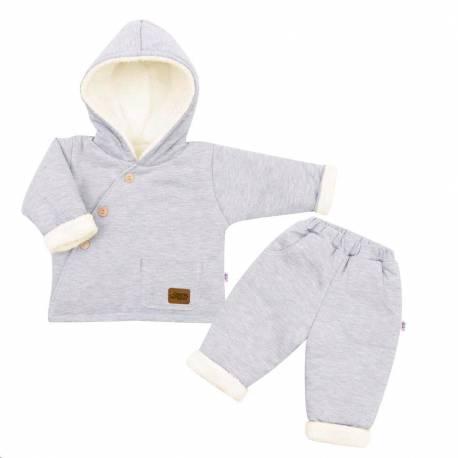 2-dílná zimní kojenecká souprava New Baby Best Winter