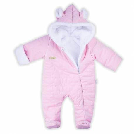 Zimní kojenecký overal Nicol Kids Winter růžový