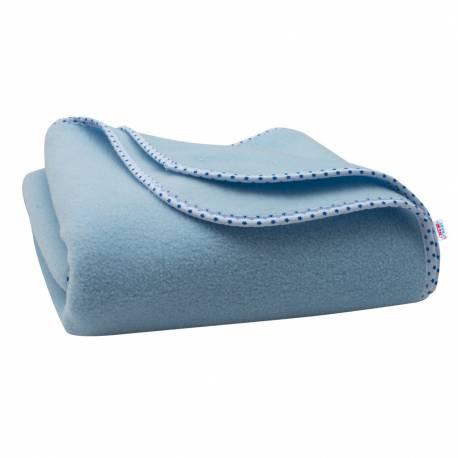 Dětská fleecová deka New Baby 100x75 modrá hvězdičky