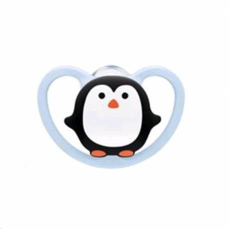 Šidítko Space NUK 0-6m penguin