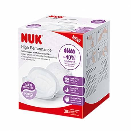 Prsní polštářky NUK High Performance 30 ks
