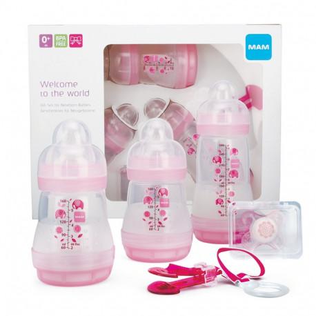 MAM darčekový set pre novorodenca - dievča