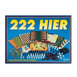 222 Hier - Súbor spoločenských hier