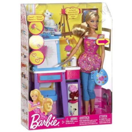 Barbie Učiteľka výtvarnej výchovy - Mattel V6933