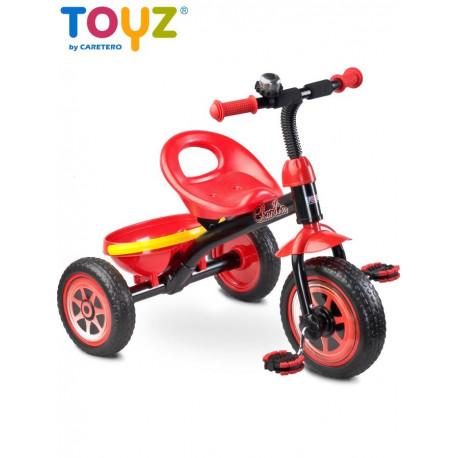 Dětská tříkolka Toyz Charlie red