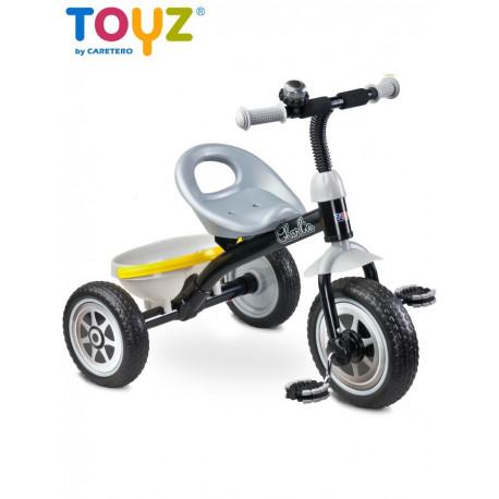 Dětská tříkolka Toyz Charlie grey