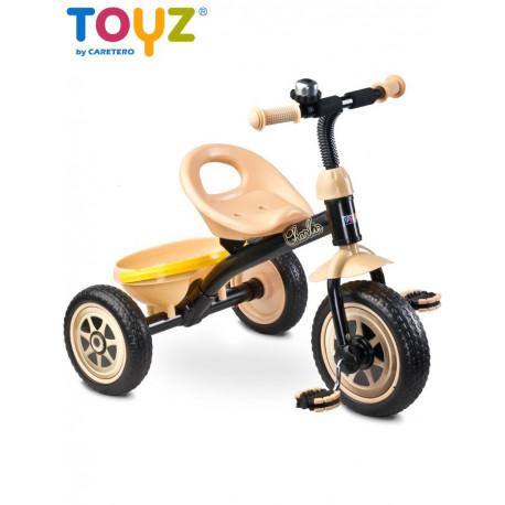 Dětská tříkolka Toyz Charlie beige