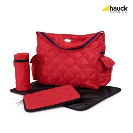 Hauck prebaľovacia taška Gino - červená