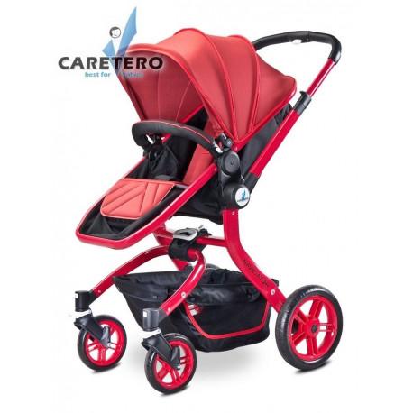 Dětský kočárek 2v1 Caretero Navigator red