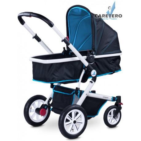 Dětský kočárek 2v1 Caretero Compass blue