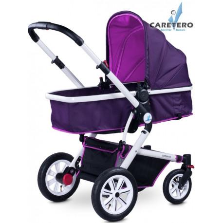 Dětský kočárek 2v1 Caretero Compass purple