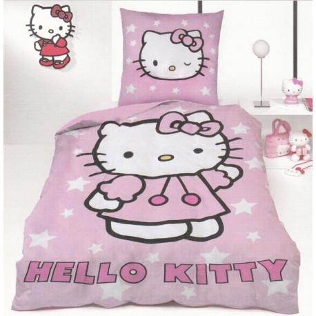 Detské obliečky do postieľky Matejovský Hello Kitty - 90 x 130 cm 40 x 60 cm