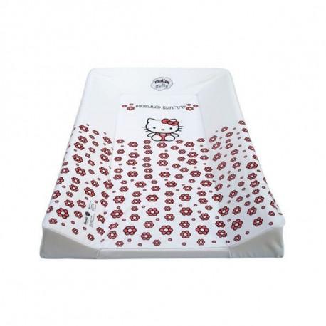 Prebaľovacia podložka Hello Kitty - biela
