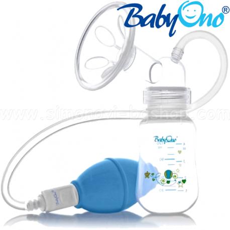 BABY ONO Manuálna odsávačka materského mlieka - balóniková